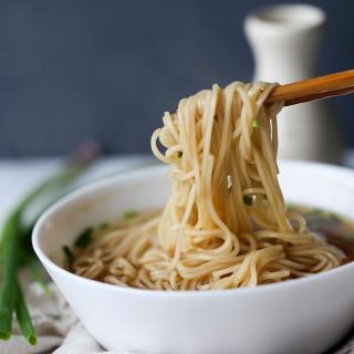 Yang Chun Noodles—Easy Soy Sauce Noodles.