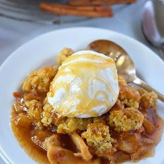 Gluten Free Caramel Apple Crisp