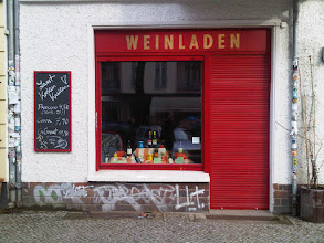 Photo: Weinladen means Wine Shop