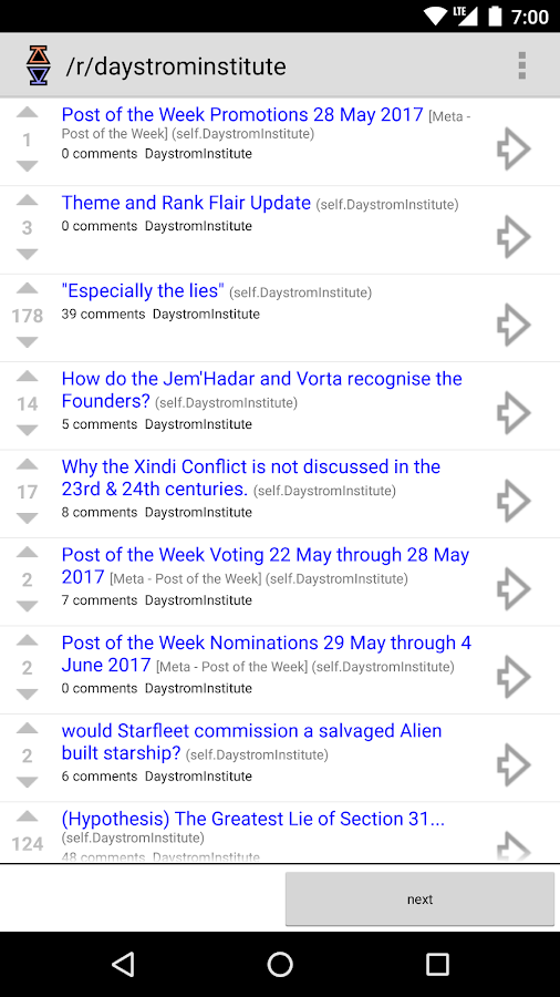 Diode for Reddit- screenshot