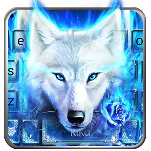 Surreal Wolf Keyboard Theme file APK for Gaming PC/PS3/PS4 Smart TV
