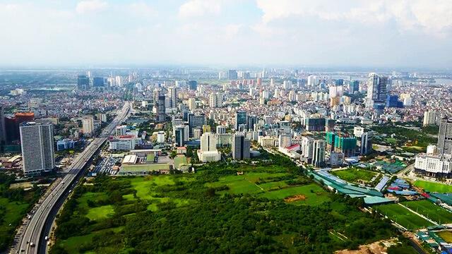 Cầu Giấy là nơi có tốc độ phát triển kinh tế nhanh và mua bán bất động sản sôi động.