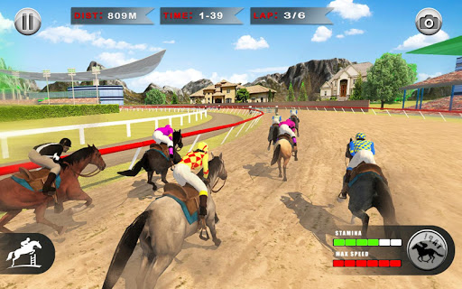 Horse Racing Games 2020: Derby Riding Race 3d apkpoly screenshots 10