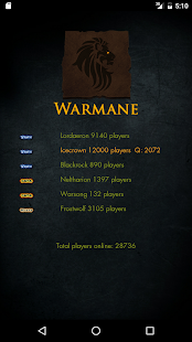 Warmane Queue - náhled