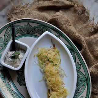 Potato Crusted Bonito Fish Fillets