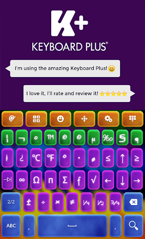 android Crazy Colors Keyboard Screenshot 4
