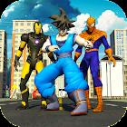 Grand Super Heroes: Vegas War of Super Goku Robots icon