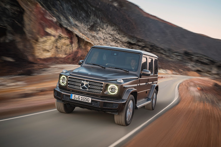 Mercedes has not messed with the G-Class' iconic look, choosing instead to focus on materials and technology