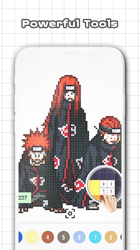 NaruSuke Color by Number - Sandbox Ninja Pixel for PC