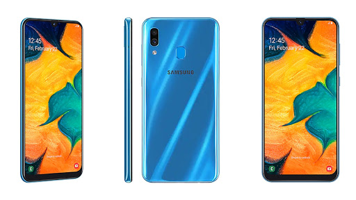Samsung's Galaxy A30 was launched in April, together with six other Galaxy A-series smartphones.