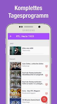 TV Programm App mit Live TV