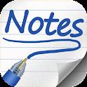 Escrever notas icon