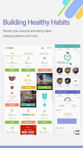 S Health app (apk) free download for Android/PC/Windows screenshot