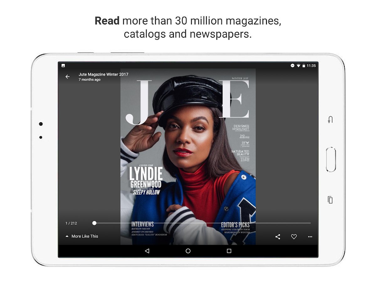 issuu - Read Magazines, Catalogs, Newspapers.: captura de tela