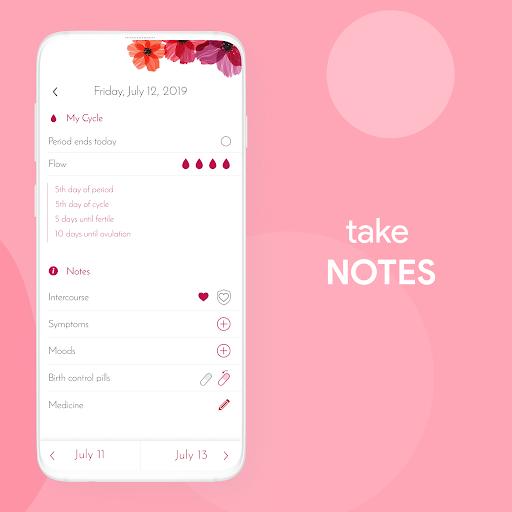 My Calendar - Period Tracker 7.4.2 screenshots 2