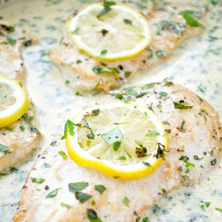 Chicken Cutlets with Lemon-Herb Cream Sauce