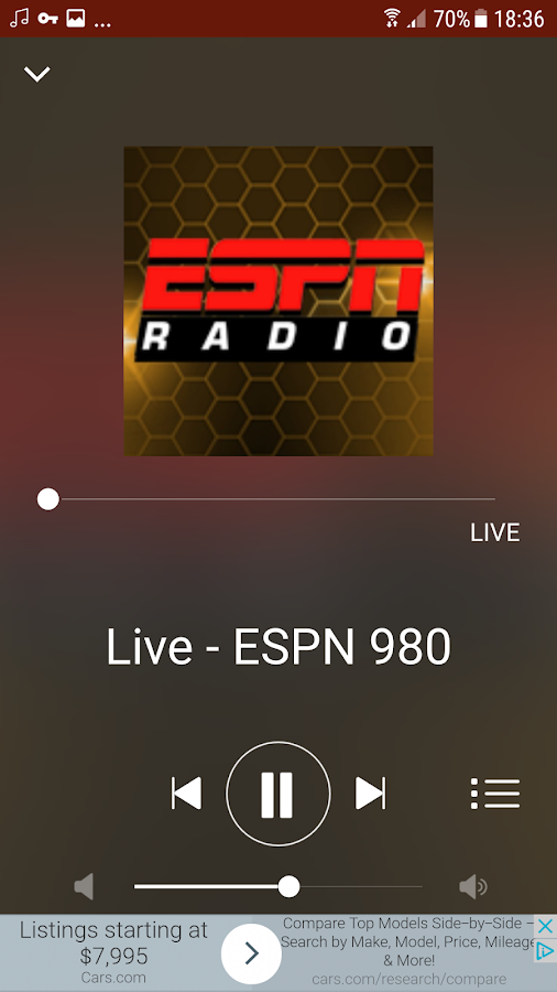 ESPN 980- screenshot