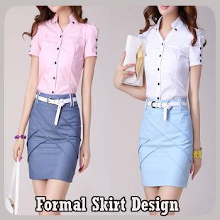 Formální design sukně - náhled