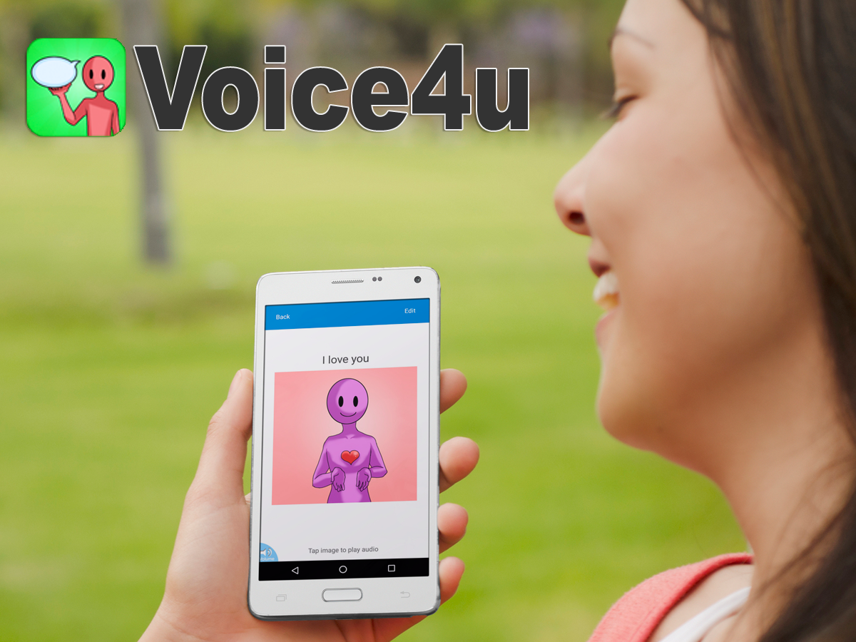 Voice4u AAC Communication- screenshot