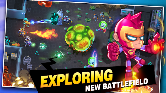 Aliens Agent: Star Battlelands Screenshot