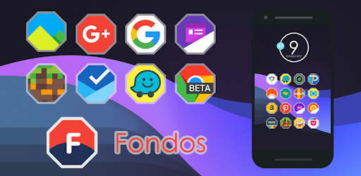 Fondos - Icon Pack Appar för Android screenshot