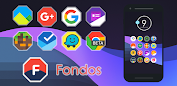 Fondos - Icon Pack app for Android screenshot