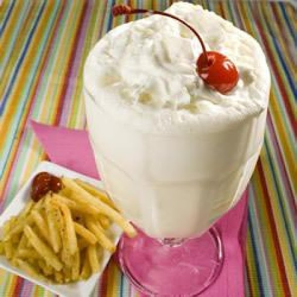 Fountain-style Vanilla Malt Shake Recipe