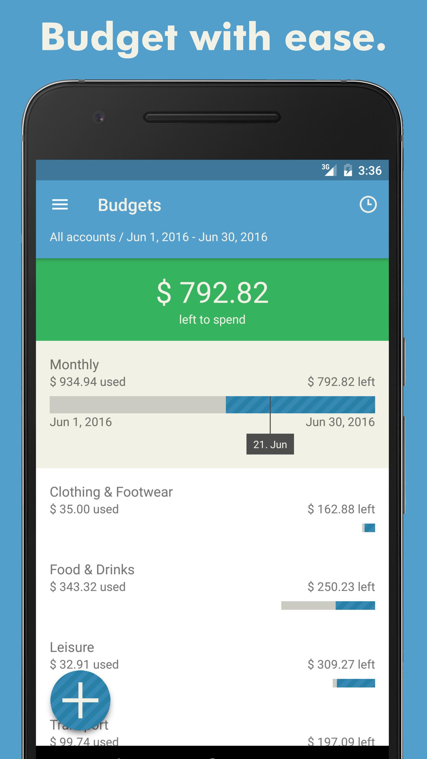 Toshl Finance Budget & Expense screenshot #2