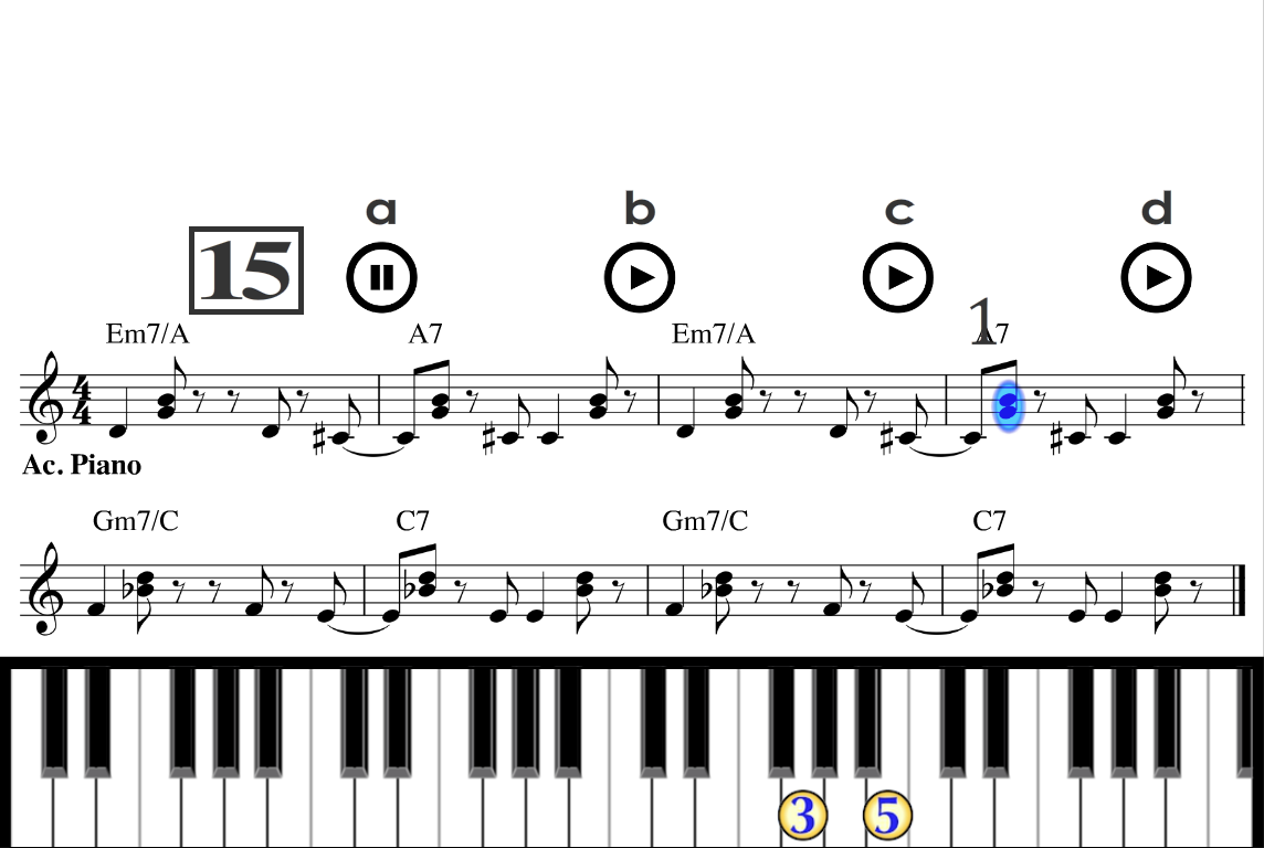 Learn how to play a real Piano- screenshot