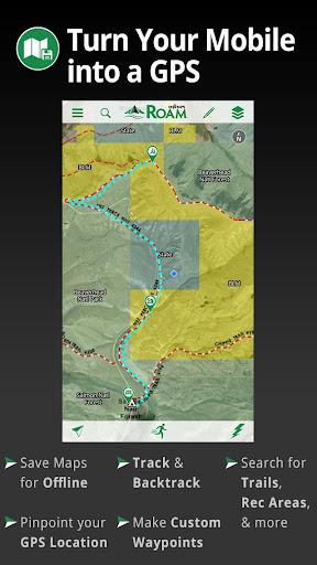 ROAM GPS:Recreation Maps Tools