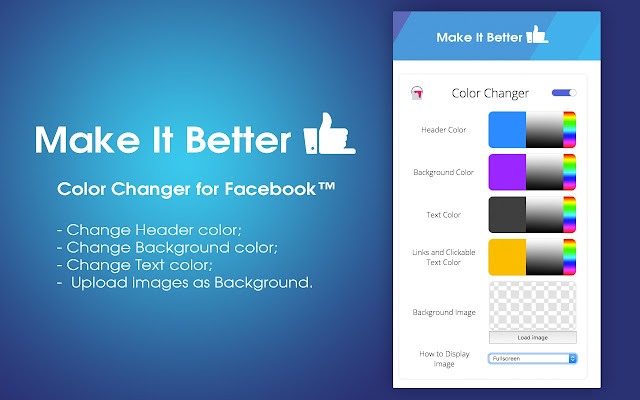 Color Changer for Facebook™ - Chrome Web Store