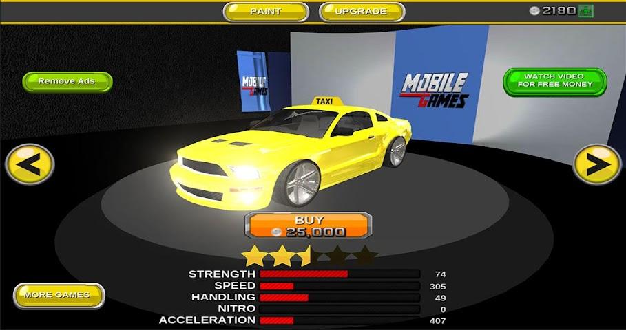 android Modern taxi racing 3D Screenshot 4