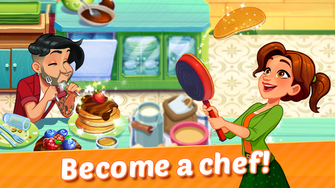 Delicious World  ❤️⏰🍕 A New Cooking Game 🍕⏰❤️ Android App Screenshot