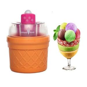 Aparat de facut inghetata Nice Ice Cream Maker + 3 pahare speciale