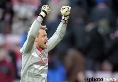 Rodgers loue la prestation de Mignolet à Villa