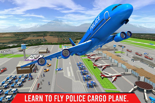 Police Elephant Robot Game: Police Transport Games 1.0.1 4