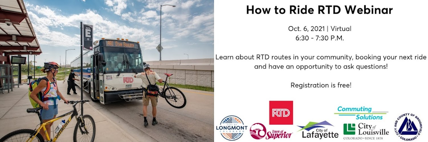 How to Ride RTD Webinar