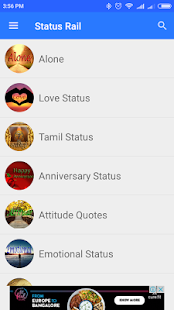 StatusRail- Best Whatsapp Status & DP Collection - náhled