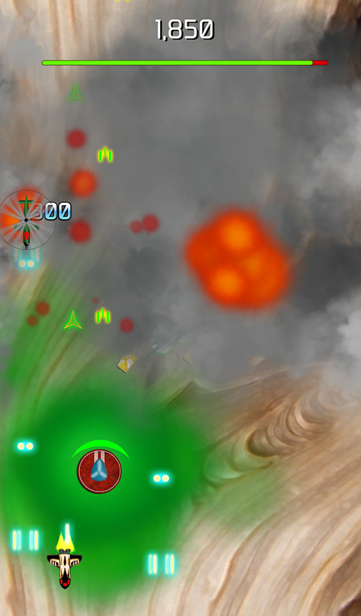 MARS 9 - Expel the invaders- screenshot