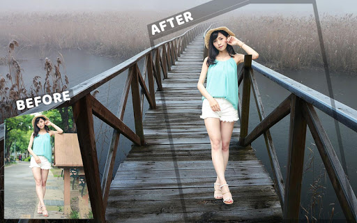 Photo Background Changer, Cut Paste Image 2018 for PC