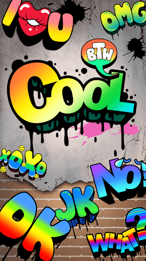 Cool Sticker With Graffiti Style v1.0 screenshots 1