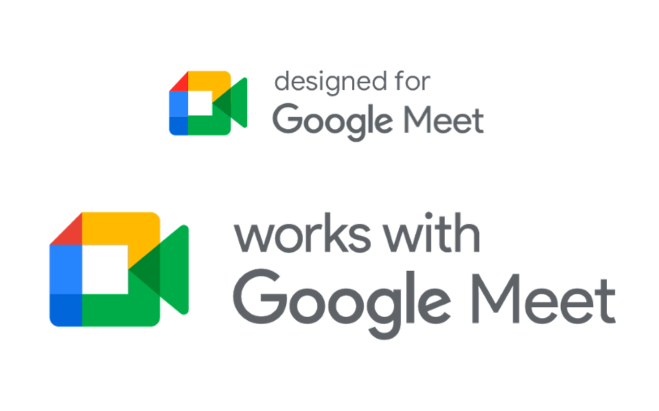 works with Google Meet