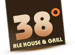 Logo for 38 Degrees Ale House & Grill Monrovia