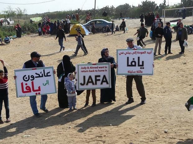 cartelli dei vari paesi di Gaza