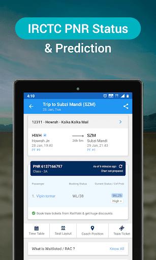 RailYatri - Live Train Status, PNR Status, Tickets screenshot 13