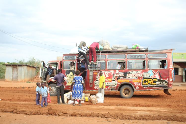A graded road in Kyondoni area of Kivaa ward, Masinga
