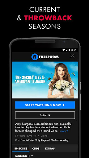 Freeform – Stream Full Episodes, Movies, & Live TV 5.1.3 screenshots 2