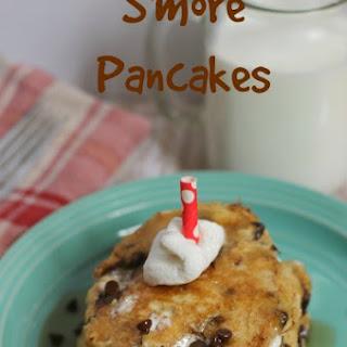 S'more Pancakes.