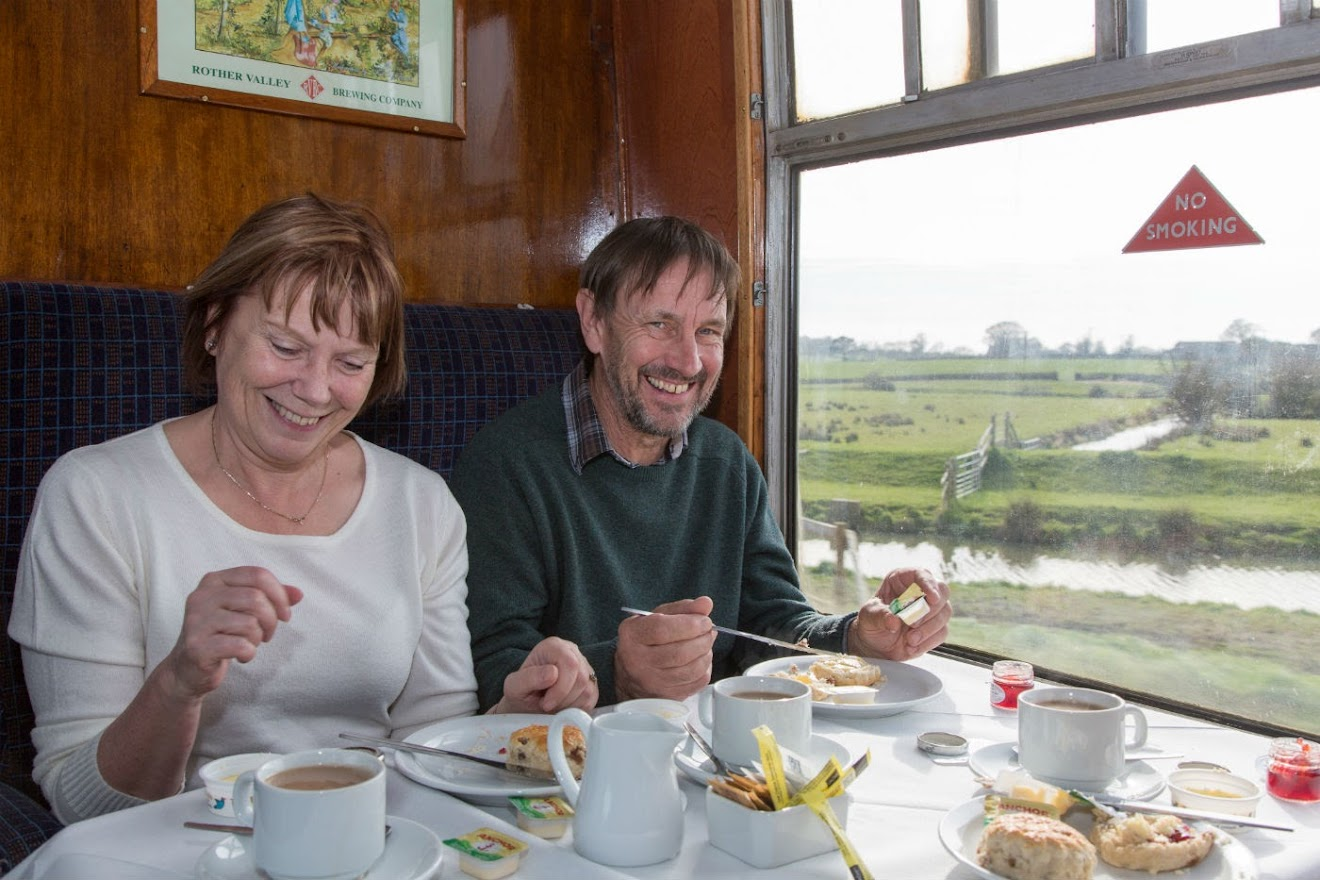 Pensionsers Treat for Over 60s at Tenterden Town Steam Railway