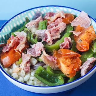 Pearl Barley Salad.